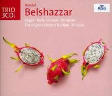 Georg Friedrich Händel (1685-1759): Belshazzar, 3 CDs
