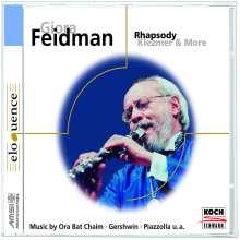 Giora Feidman - Rhapsody for Klezmer, CD