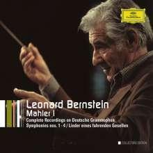 Leonard Bernstein - The Complete Mahler DG-Recordings I, 6 CDs