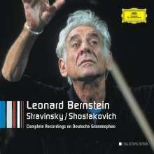 Leonard Bernstein - Strawinsky/Schostakowisch (DG-Rec.), 6 CDs