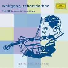 Wolfgang Schneiderhan - The 1950s Concerto Recordings, 5 CDs
