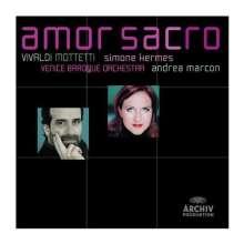 """Antonio Vivaldi (1678-1741): Motetten RV 626,627,630,632 """"Amor Sacro"""", CD"""