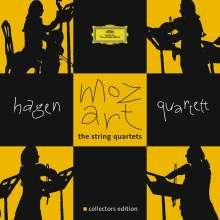 Wolfgang Amadeus Mozart (1756-1791): Streichquartette Nr.1-23, 7 CDs