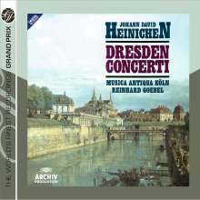 Johann David Heinichen (1683-1729): Dresden Concerti, 2 CDs