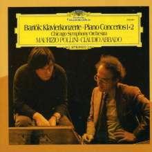 Bela Bartok (1881-1945): Klavierkonzerte Nr.1 & 2, CD