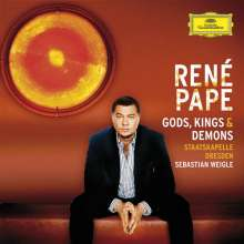 Rene Pape - God,Kings and Demons, CD