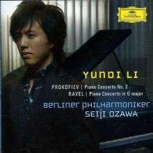 Yundi Li spielt Klavierkonzerte, CD