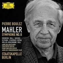 Gustav Mahler (1860-1911): Symphonie Nr.8, 2 CDs
