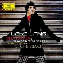 Ludwig van Beethoven (1770-1827): Klavierkonzerte Nr.1 & 4 (mit DVD), 2 CDs