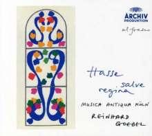 Johann Adolph Hasse (1699-1783): Salve Regina in A & Es, CD