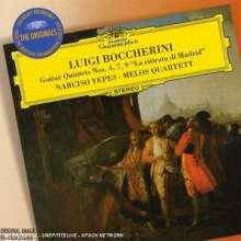 Luigi Boccherini (1743-1805): Gitarrenquintette Nr.4,7,9, CD