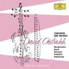 David Oistrach - Concertos and Encores, 3 CDs