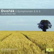 Antonin Dvorak (1841-1904): Symphonien Nr.8 & 9, CD
