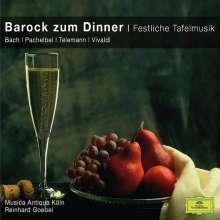 Barock zum Dinner - Festliche Tafelmusik, CD