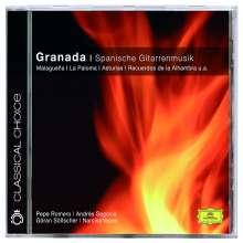 "Spanische Gitarrenmusik ""Granada"", CD"