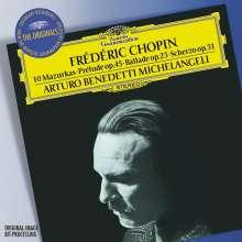 Frederic Chopin (1810-1849): Mazurken Nr.20,22,25,34,43,45-47,49, CD
