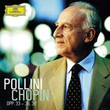 Maurizio Pollini - Chopin op.33-36,38, CD