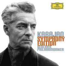 Herbert von Karajan - Symphonien-Edition, 38 CDs