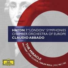 Joseph Haydn (1732-1809): Symphonien Nr.93,96,98,100-103, 4 CDs