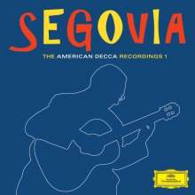 Andres Segovia - The American Decca Recordings I, 6 CDs