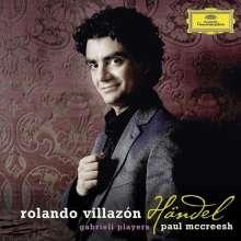 Rolando Villazon - Händel-Arien (Deluxe-Edition mit DVD), 1 CD und 1 DVD