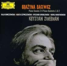 Grazyna Bacewicz (1909-1969): Klavierquartette Nr.1 & 2, CD