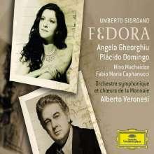 Umberto Giordano (1867-1948): Fedora, 2 CDs