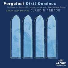 Giovanni Battista Pergolesi (1710-1736): Dixit Dominus, CD