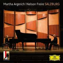 Martha Argerich & Nelson Freire - Salzburg, CD