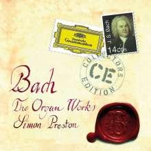 Johann Sebastian Bach (1685-1750): Orgelwerke (Ges.-Aufn.), 14 CDs