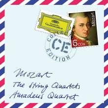 Wolfgang Amadeus Mozart (1756-1791): Streichquartette Nr.1-23, 6 CDs