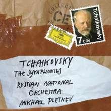 Peter Iljitsch Tschaikowsky (1840-1893): Symphonien Nr.1-6, 7 CDs