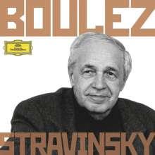 Igor Strawinsky (1882-1971): Pierre Boulez dirigiert Strawinsky, 6 CDs