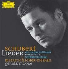 Franz Schubert (1797-1828): Lieder, 21 CDs