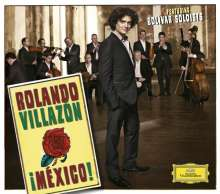 Rolando Villazon - Mexiko (Deluxe-Version/Hardcover), CD