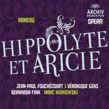 Jean Philippe Rameau (1683-1764): Hippolyte et Aricie, 3 CDs