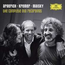 Argerich/Kremer/Maisky - The Complete Duo Recordings, 13 CDs