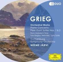 Edvard Grieg (1843-1907): Klavierkonzert op.16, 2 CDs