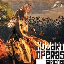 Wolfgang Amadeus Mozart (1756-1791): Gardiner dirigiert 7 Mozart-Opern, 18 CDs