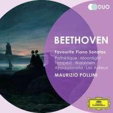 Ludwig van Beethoven (1770-1827): Klaviersonaten 8,14,17,21,23-26, 2 CDs