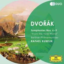Antonin Dvorak (1841-1904): Symphonien Nr.6-9, 2 CDs