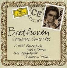 Ludwig van Beethoven (1770-1827): Sämtliche Konzerte, 5 CDs