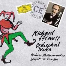 Richard Strauss (1864-1949): Herbert von Karajan dirigiert Strauss, 5 CDs