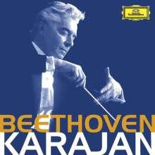 Ludwig van Beethoven (1770-1827): Herbert von Karajan dirigiert Beethoven, 13 CDs