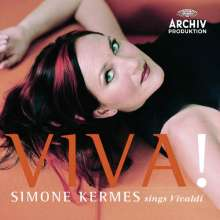 """Simone Kermes sings Vivaldi - """"Viva!"""", CD"""
