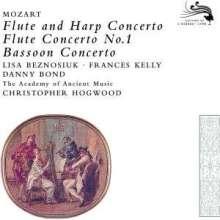 Wolfgang Amadeus Mozart (1756-1791): Konzert für Flöte & Harfe KV 299, CD