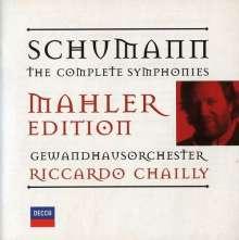Robert Schumann (1810-1856): Symphonien Nr.1-4 (Orch.G.Mahler), 2 CDs
