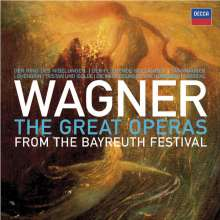 Richard Wagner (1813-1883): Wagner - The Great Operas from the Bayreuth Festival, 33 CDs