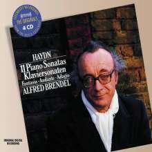 Joseph Haydn (1732-1809): Klaviersonaten, 4 CDs