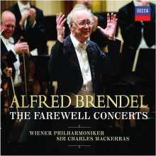 Alfred Brendel - The Farewell Concerts, 2 CDs